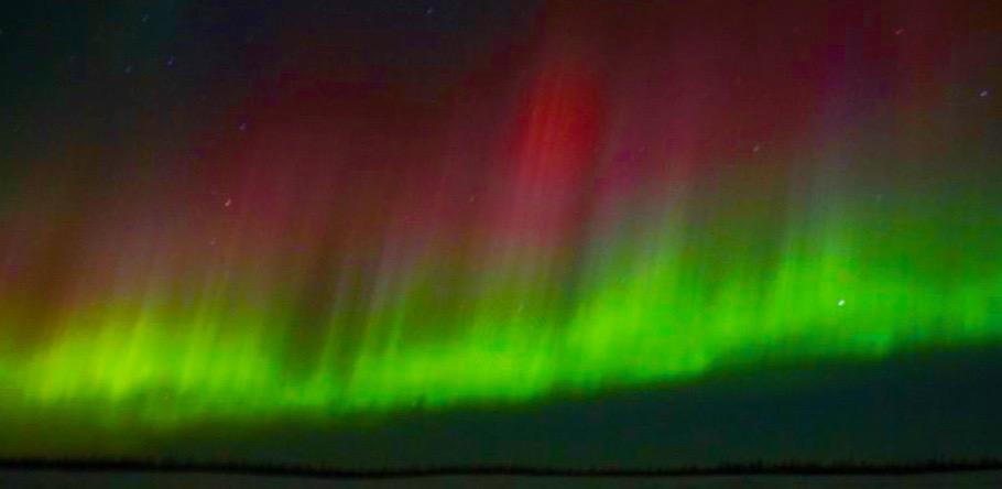 Northern Lights on the Yamal Peninsula